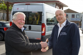 Our minibus team help members of the community get around Letchworth
