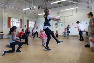 Street Dance benefited from a grant from the Heritage Foundation