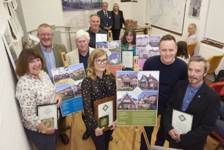 Winners of the Garden City Heritage Awards in 2016