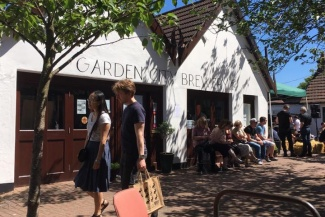 The Garden City Brewery is in the Wynd, Letchworth Garden City