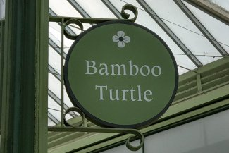 Bamboo Turtle sign