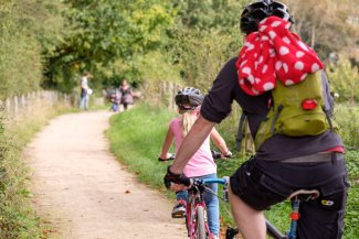 Cyclists make the most of Greenway Day 2017