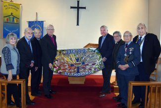 80th Anniversary at St Thomas' Church