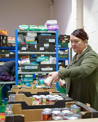 Heritage Foundations grants have been used to support a local food bank in Letchworth
