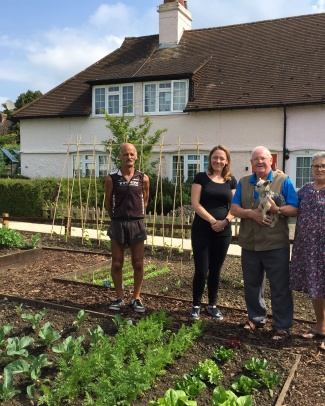 Community Garden in Letchworth
